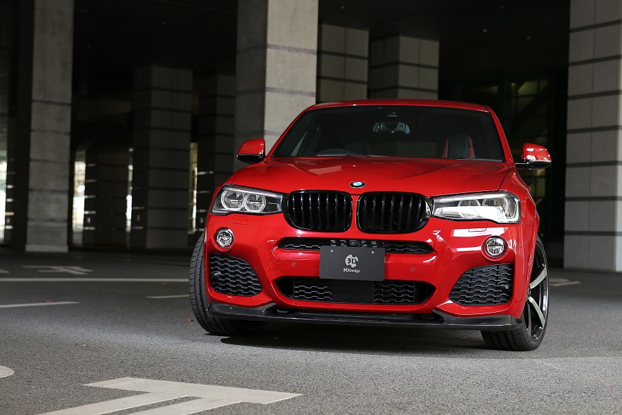 3ddesign Aerodynamics And Body Kits For Bmw X4er F26