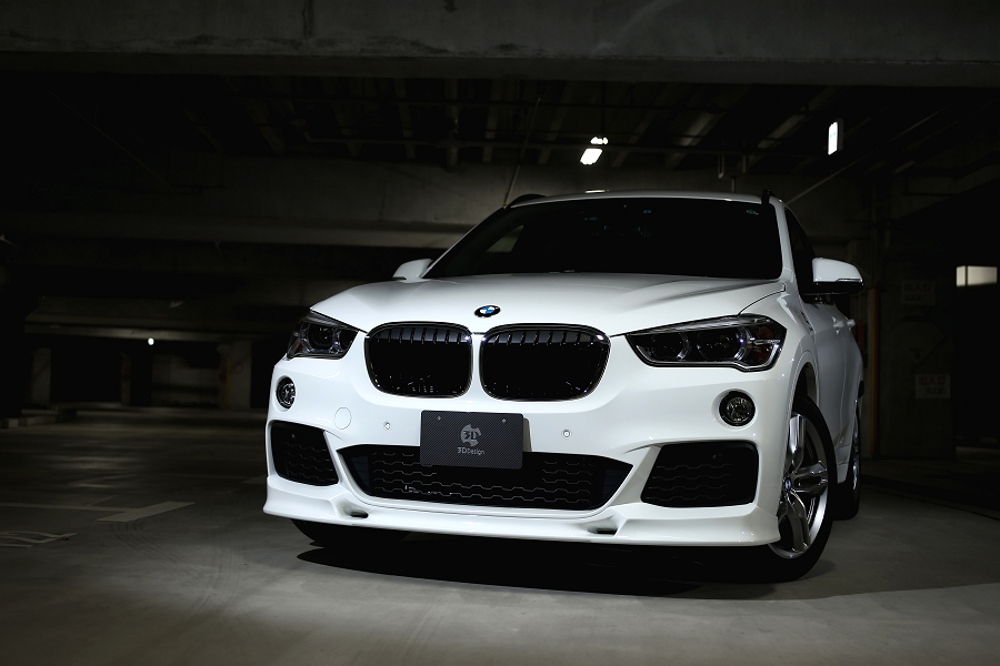 3ddesign Aerodynamics And Body Kits For Bmw X1 M Sport F48