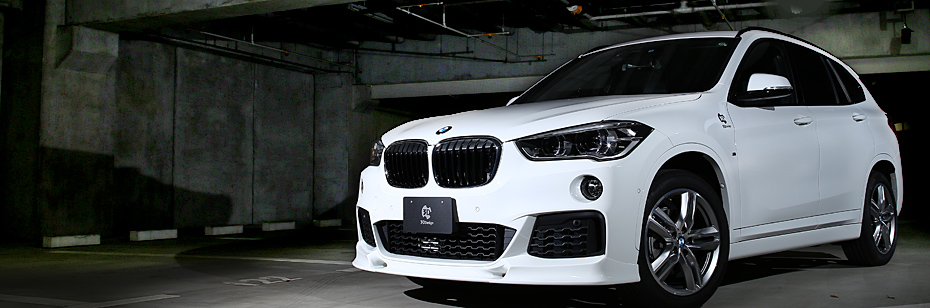 3ddesign aerodynamics and body kits for bmw x1 m sport f48. Black Bedroom Furniture Sets. Home Design Ideas
